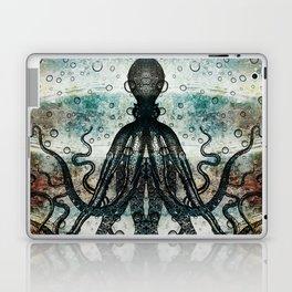 Octopus In Stormy Water Laptop & iPad Skin
