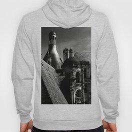 Château de Chambord II - Gothic Architecture Dark Creepy Eerie Scenery Hoody