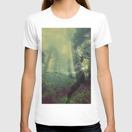 Jurassic Kitty Hunt T-shirt