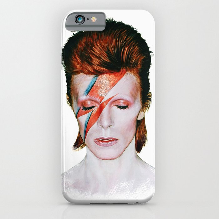 bowie tribute iphone case