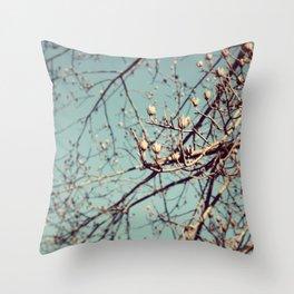 Mountain Nature Throw Pillow