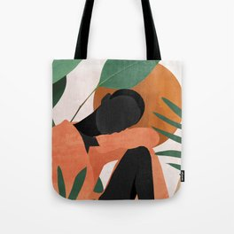 Tropical Girl 10 Tote Bag