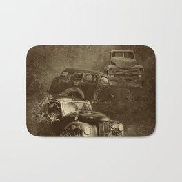 Cars in the jungle Bath Mat