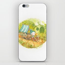 On the Road ! iPhone Skin