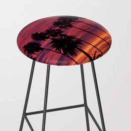 Sunset over Hollywood Bar Stool