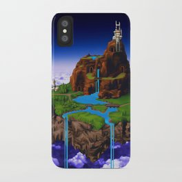 Floating Kingdom of ZEAL - Chrono Trigger iPhone Case
