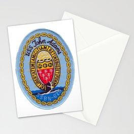 USS JOHN ADAMS (SSBN-620) PATCH Stationery Cards