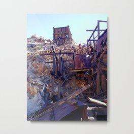 Ballarat Ghost Town Metal Print