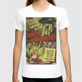 House of Horrors, vintage horror movie poster T-shirt