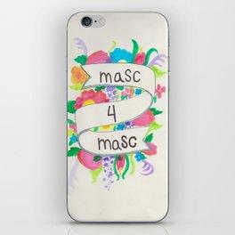 Masc 4 Masc iPhone Skin