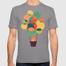 Whimsical Hot Air Balloon T-shirt