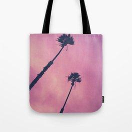 Pink Haze | Palms Tote Bag