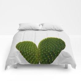 Heart Cactus Comforters