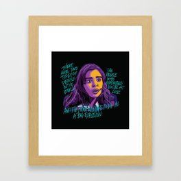 Nadine Franklin Framed Art Print