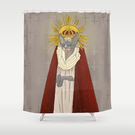 holy Shower Curtain