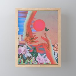 Strange Times Framed Mini Art Print