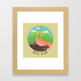 Slug Life #1 Framed Art Print