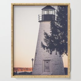 Lighthouse on the Chesapeake Serving Tray