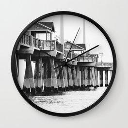 Jennette's Pier Wall Clock