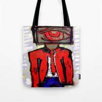 suit Tote Bags featuring Suit by Keith Cameron