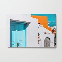 Apartment 539   Santorini, Greece Metal Print