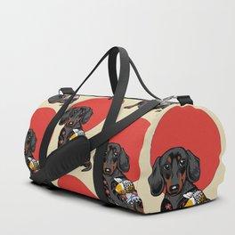 Yakuza Dachshund Duffle Bag