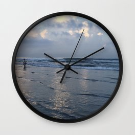 Fisherman, Phuket, Thailand Wall Clock