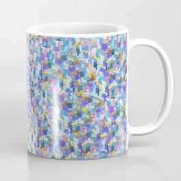 Blue Digital Glitter with Vibrant Sparkles Coffee Mug