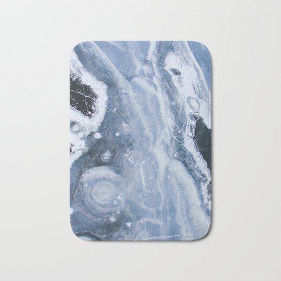 Frozen ocean Bath Mat