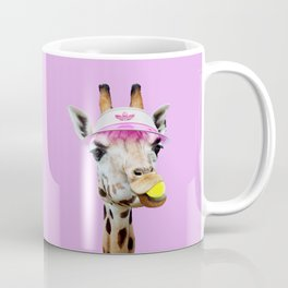 TENNIS GIRAFFE Coffee Mug