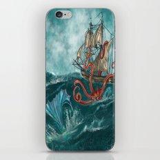 Kraken and the Mermaid  iPhone & iPod Skin