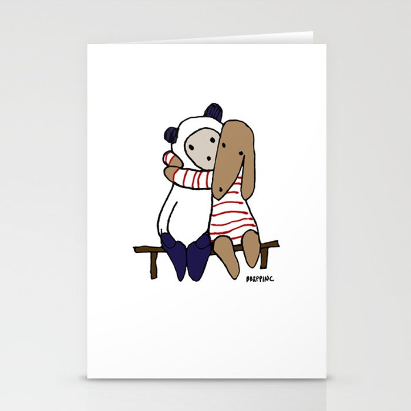 BB&P Hug Stationery Cards