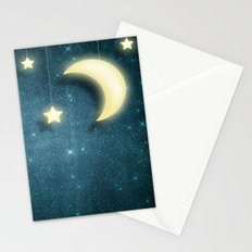 Moon & Stars 01 Stationery Cards