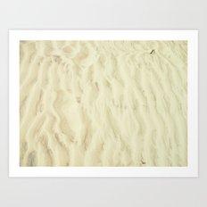 Sand Art Print