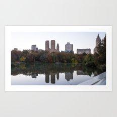 Central Park Fall Series 3 Art Print