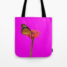 African Monarch in Pink Tote Bag