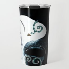 Venetian Mask of Mystery Travel Mug