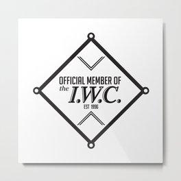 IWC Union Logo Metal Print