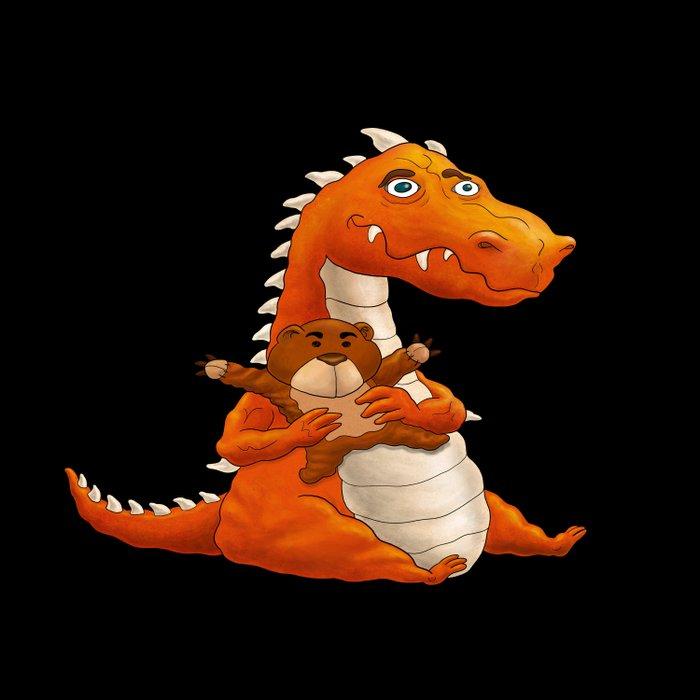 Baby Dragon Duvet Cover