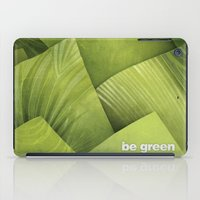 grass iPad Cases featuring Grass by Yevheniia Hlova