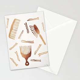Good Hair Day – Rose Gold Palette Stationery Cards