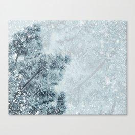 Snow  #buyart #society6 #decor Canvas Print
