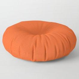 Vermilion colour Floor Pillow