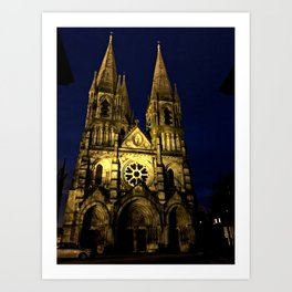 St. Fin Barre's Cathedral Art Print