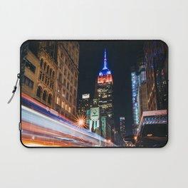 New York City Lights Laptop Sleeve