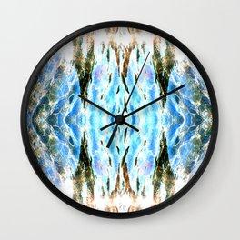 Shining liquid Wall Clock