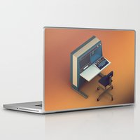 computer Laptop & iPad Skins featuring Vintage Computer by Michiel van den Berg