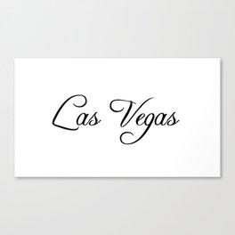 Las Vegas. Canvas Print