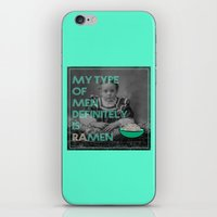 ramen iPhone & iPod Skins featuring ramen lover by AmDuf