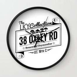 38  Oxley Road Wall Clock